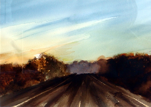 Watercolor Painting © Michael Delaney